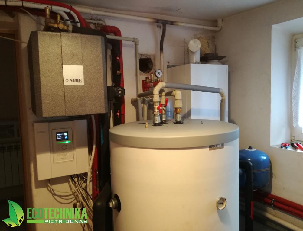 pompa ciepła ogrzewanie z kotłem gazowym